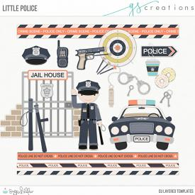 Little Police Layered Templates (CU)