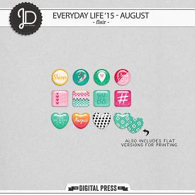 Everyday Life '15 - August | Flair