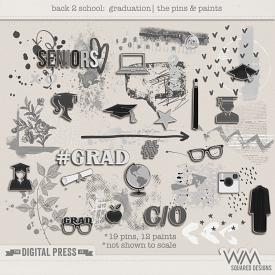 Back 2 School - Graduation | The Pins & Paints