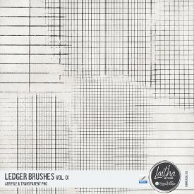 Ledger Brushes & Stamps Vol. 01 (CU)